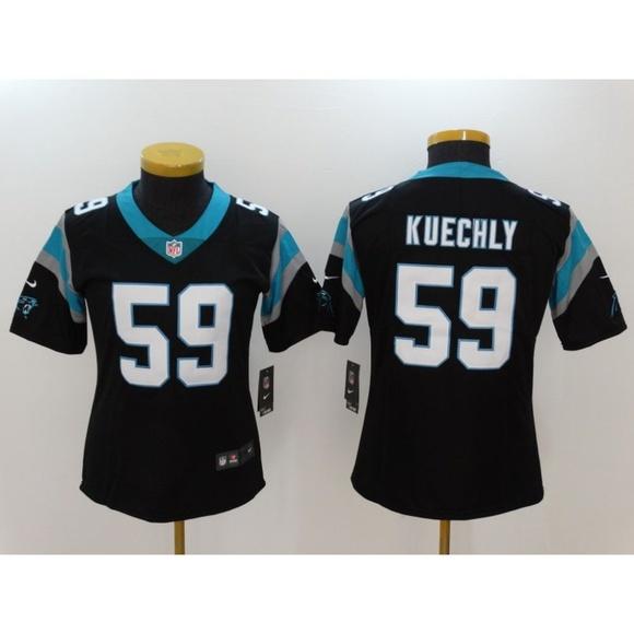 factory price 9dc6d 869db Women Carolina Panthers Luke Kuechly Jersey (2)